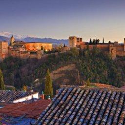 alojamiento con vistas a la alhambra