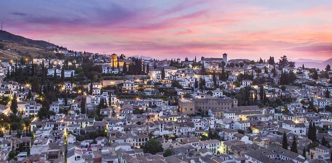 hotel con vistas a la alhambra